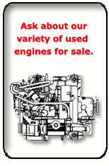 Ask about our used engines for sale